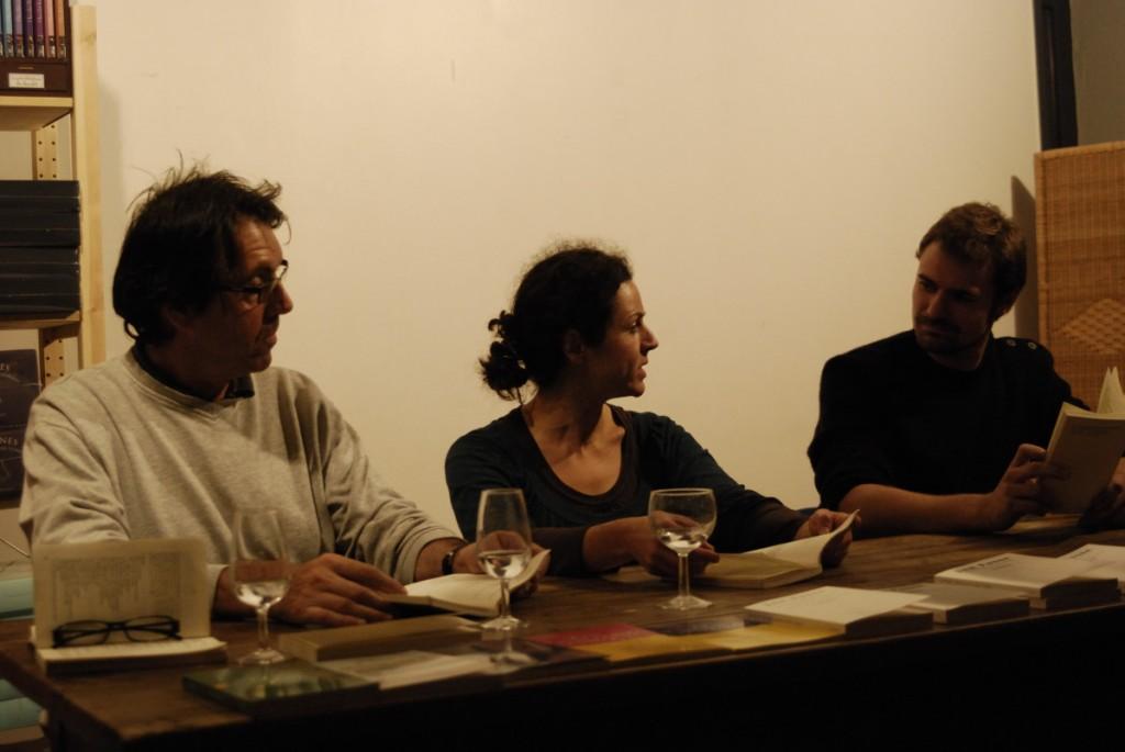 lecture publique à Lucioles - création Jon Fosse 2009